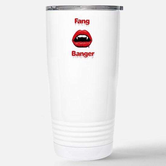 Fang Banger Stainless Steel Travel Mug