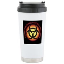 CENTER FOR ZOMBIE CONTROL and PREVENTION Travel Mug