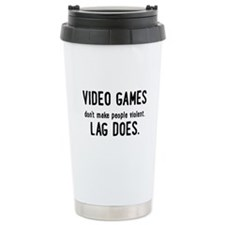 Video Game Lag Travel Mug