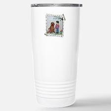 Girl and her Dog Travel Mug