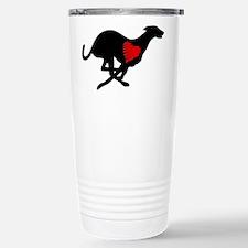 Greyhound Stainless Steel Travel Mug Hearthound