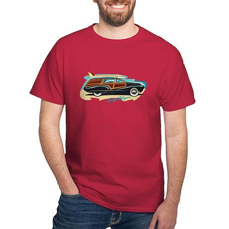 Surf Wagon Woody Dark T-Shirt