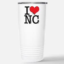I Love Naughty-Chicks Stainless Steel Travel Mug