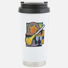 Glass Blowing Stainless Steel Travel Mug