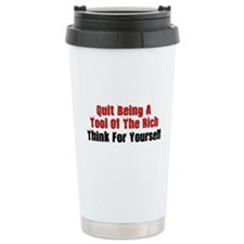 Tool Of The Rich Travel Mug