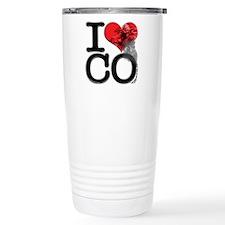 I Love COntraband Travel Coffee Mug