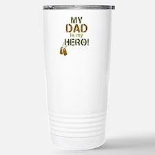 Dog Tag Hero Dad Travel Mug