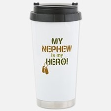 Dog Tag Hero Nephew Travel Mug