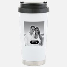Full Photo with Year Stainless Steel Travel Mug