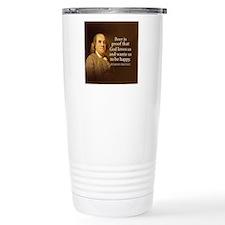 Ben Quote Beer Travel Mug