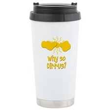 Why So Cirrus Travel Mug