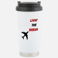 Airplane Stainless Steel Travel Mug