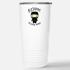 Cute Ninja Travel Mug