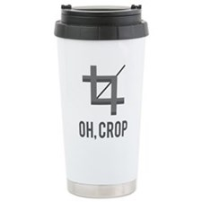 Oh, Crop Travel Mug