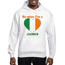 James, Valentine's Day Hoodie
