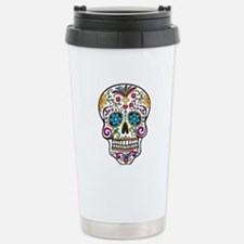 Day of The Dead Sugar Skull, Halloween Stainless S