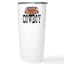 100 Cowboy Travel Mug