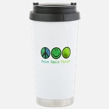 peace_smile_tennis.png Stainless Steel Travel Mug