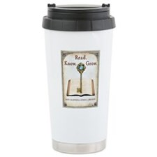 sword and book Travel Mug