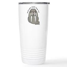 card walruses need love.png Travel Mug