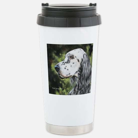 English Setter by Dawn  Stainless Steel Travel Mug