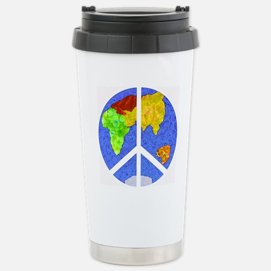 peaceworldornament Stainless Steel Travel Mug