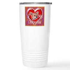 2-I Love My Chihuahua Travel Mug
