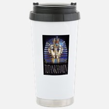 tut painting long Stainless Steel Travel Mug
