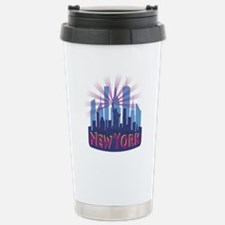 NYC Newwave7 cool Stainless Steel Travel Mug