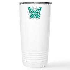 Ovarian-Cancer-Butterfl Travel Mug