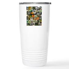 Bronx zoo montage Travel Coffee Mug