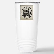 grizzly-paw-print Travel Mug