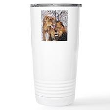 winter lions Travel Mug