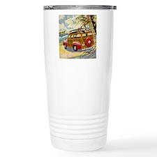 Retro Woody Travel Mug