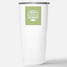 congrats-sq-grnplaid Travel Mug