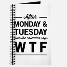 After Monday and Tuesday even the calendar says WT