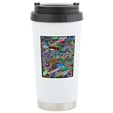 graffiti_peace_internat Travel Coffee Mug