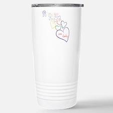 2Moms1FamilyHeartDesign Travel Mug