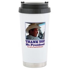Bush-Thank-You-American Travel Coffee Mug