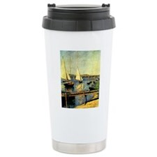 Caillebotte: Sailing Bo Travel Mug