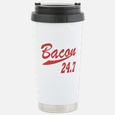 Bacon 247 Stainless Steel Travel Mug