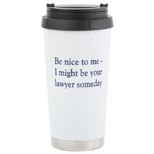 Serial Comma Travel Mug