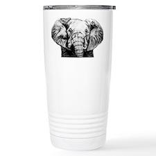 Original Art Elephant Travel Mug