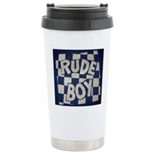 Rude Boy OiSKINBLU whit Travel Mug
