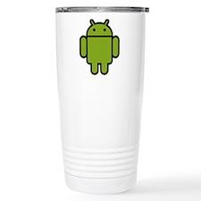 Android-Stroked-Black-N Travel Coffee Mug