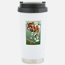 Plays With Paints Poste Stainless Steel Travel Mug