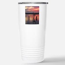 marina sunset Travel Mug