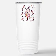 Hipster Watercolor Drea Travel Mug