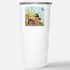 woodland mouse-mousepad Stainless Steel Travel Mug