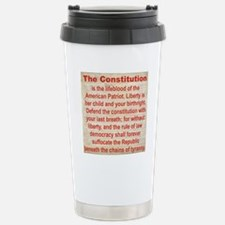 2-THE CONSTITUTION Stainless Steel Travel Mug